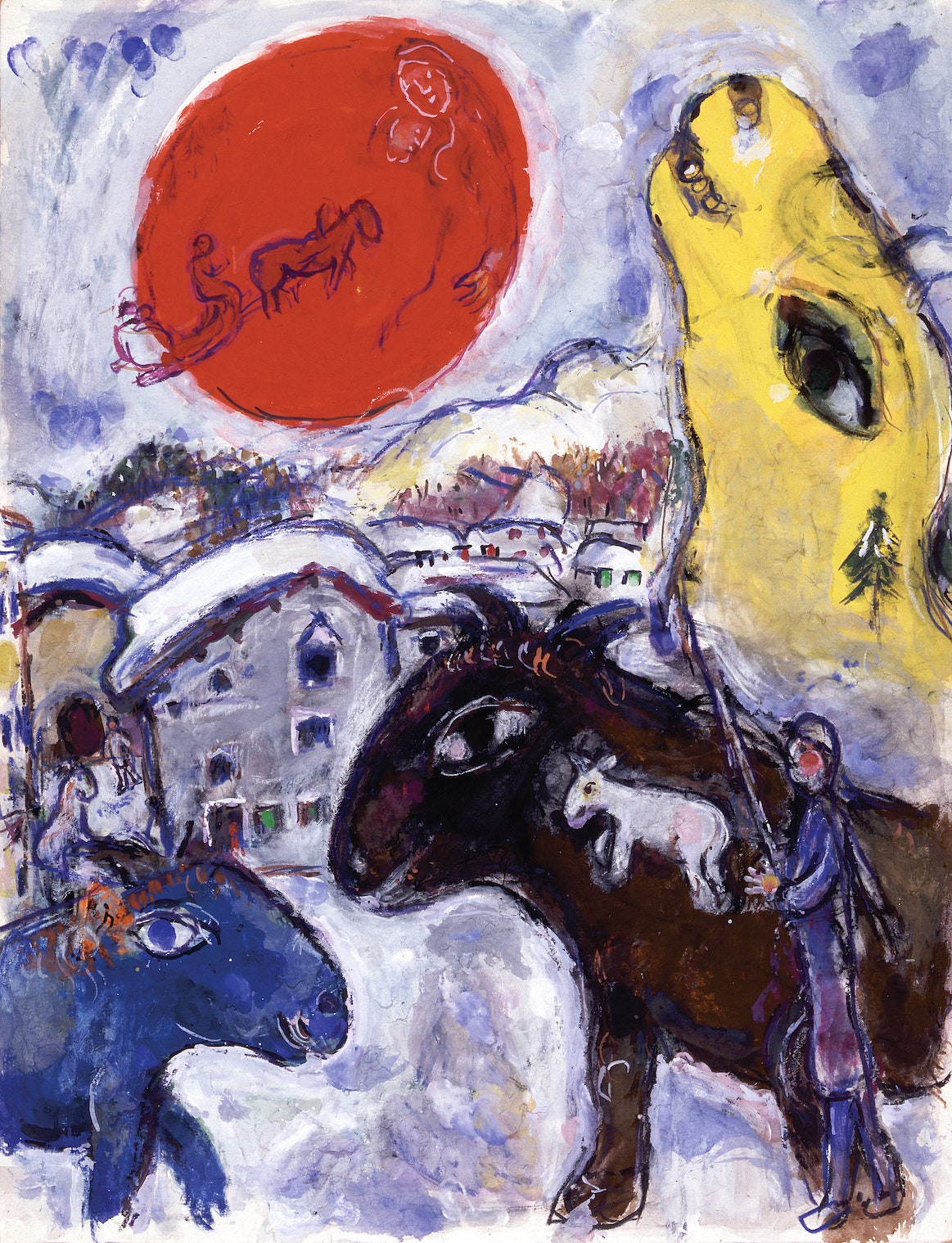 . 19611964.    ADAGP Paris 2019 Chagall