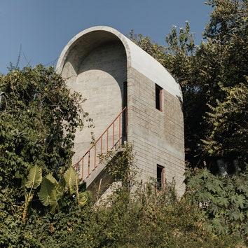 Бетонный дом для жертв землетрясения в Мексике