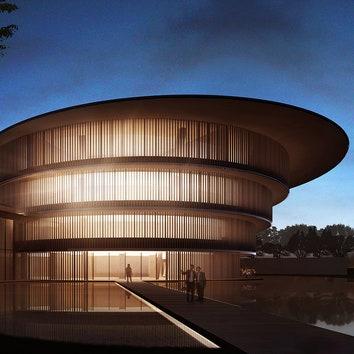 Музей He Art Museum по проекту Тадао Андо откроется в марте 2020 года