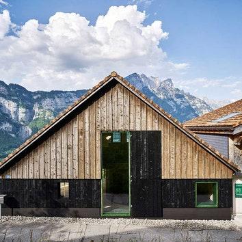 Преображение здания бывшей конюшни в Швейцарии