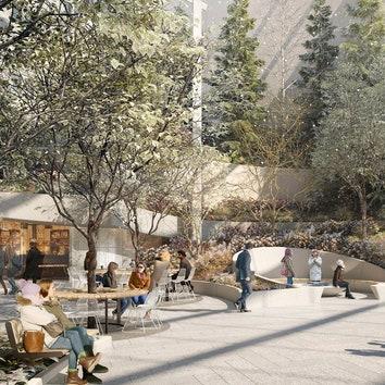 Зеленый оазис в Нью-Йорке: крытый сад от бюро Snøhetta