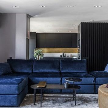 Квартира в центре Краснодара со смелыми решениями, 120 м²