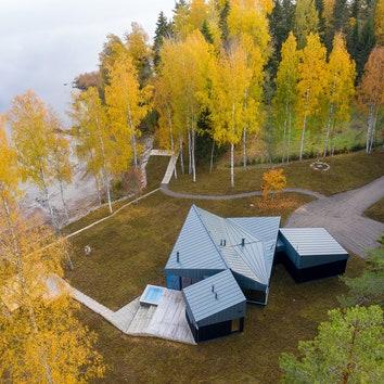 Уединенный дом в Финляндии