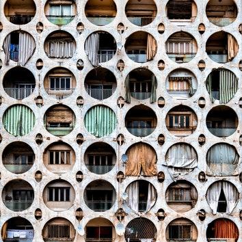 Заброшенная архитектура Бейрута в серии снимков Джеймса Кервина