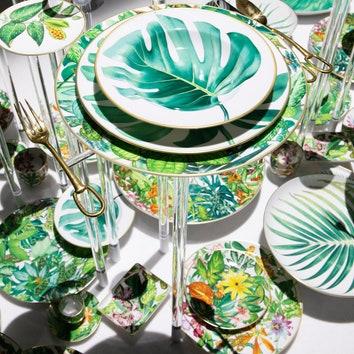 Passifolia: новая коллекция посуды от Hermès