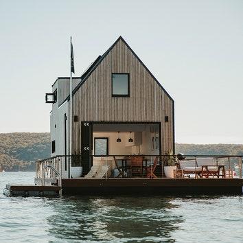 Плавучий дом в Сиднее