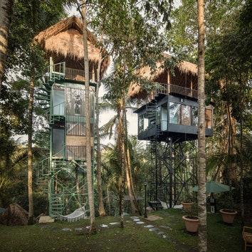 #отпускпообмену: бутик-отель на сваях в Убуде
