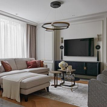 Уютная квартира в Москве, 160 м²