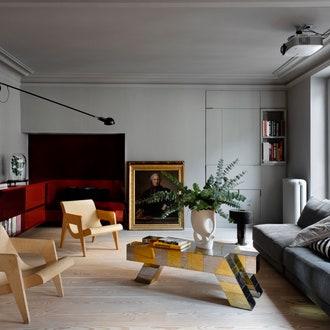 Квартира по проекту Федерико Мазотто в Париже