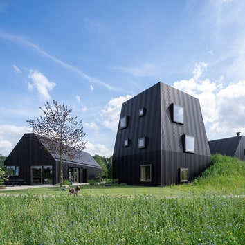 Современная ферма в Нидерландах по проекту Mecanoo