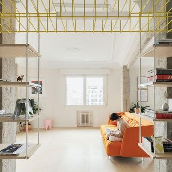Эксперименты с зонированием: небольшая квартира в Бильбао