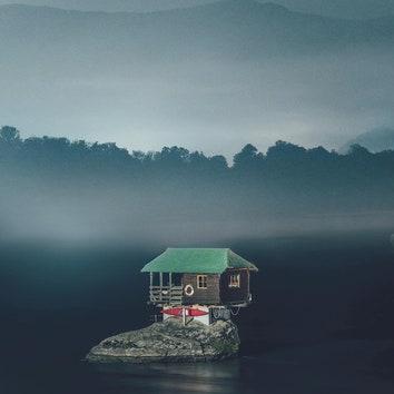Вдвоем с природой: уединенные домики в объективе Леннарта Пагеля