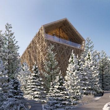 Комфорт семизвездочного отеля и полная гармония с природой в новом проекте Питера Пихлера
