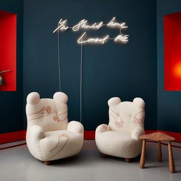 Любовь и флирт: новая коллекция мебели Пьера Йовановича