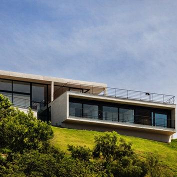 Дом с видом на горы в Сан-Паулу