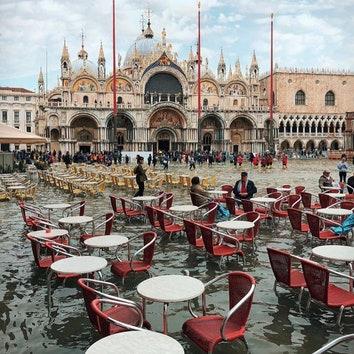 Наводнение в Венеции: как пострадали городские достопримечательности
