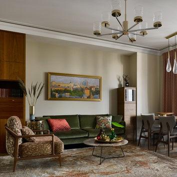 Квартира для пожилой пары в Москве, 120 м²