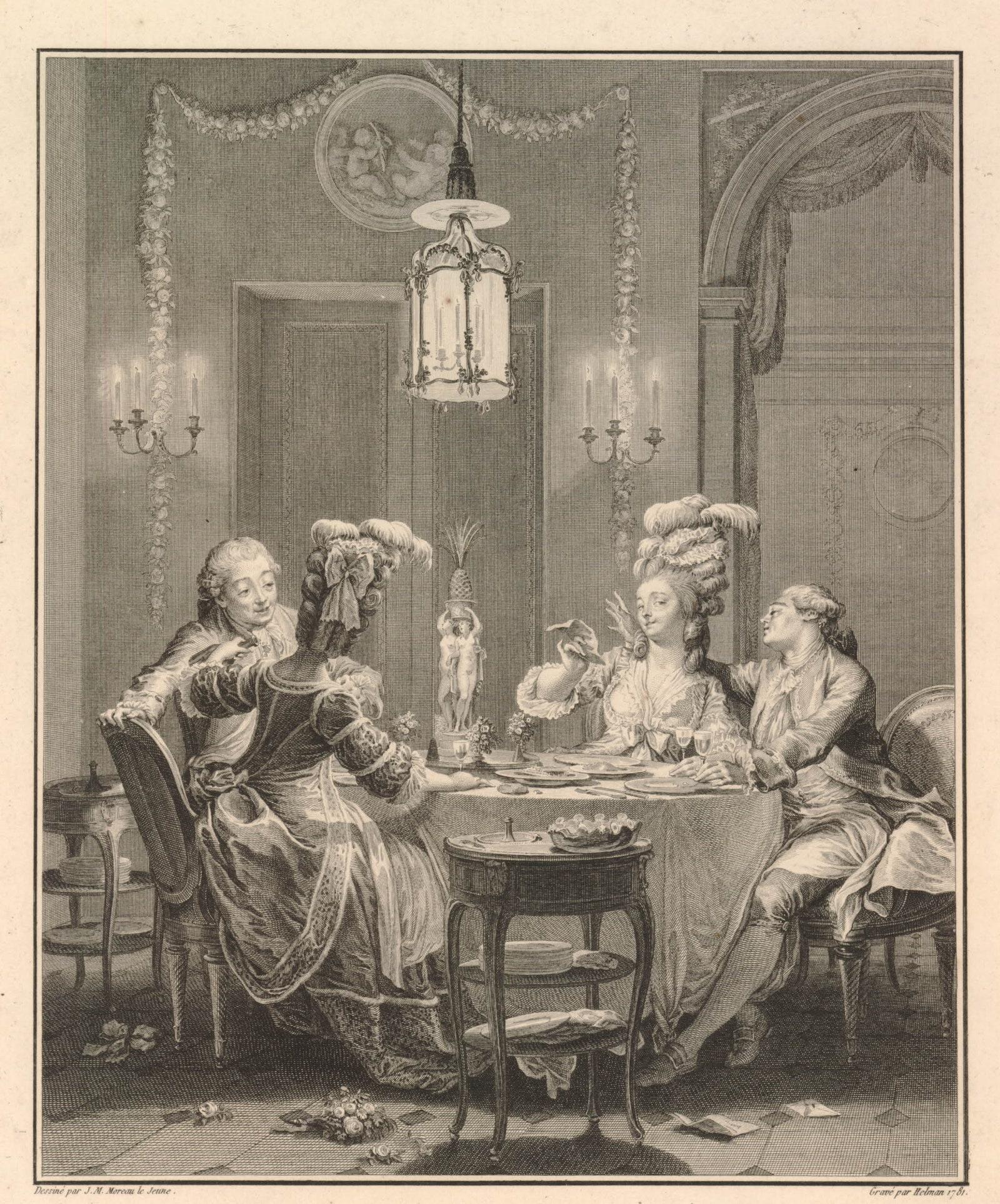 .  .    Monument du costume.    . 1781.  . . . .
