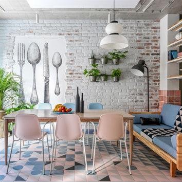 Таунхаус для любителей шведского дизайна в Подмосковье