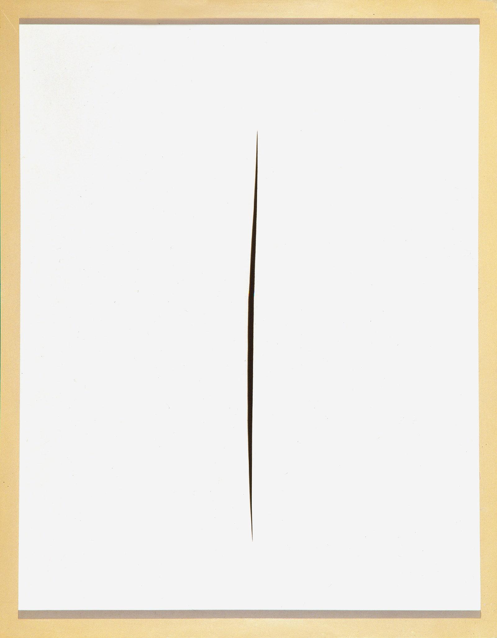 .  . . 1965.   .   .  Fondazione Lucio Fontana.