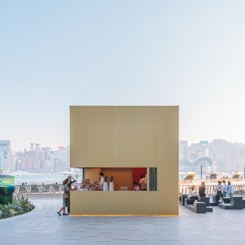 Функциональная инсталляция от OMA на набережной в Гонконге