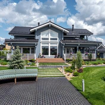 Дом на берегу реки, 370 м²