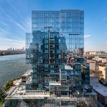 Новый жилой небоскреб в Бруклине по проекту бюро ODA