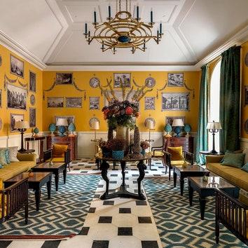 Реновация знаменитого Hotel de la Ville в Риме по проекту Томмазо Зиффера