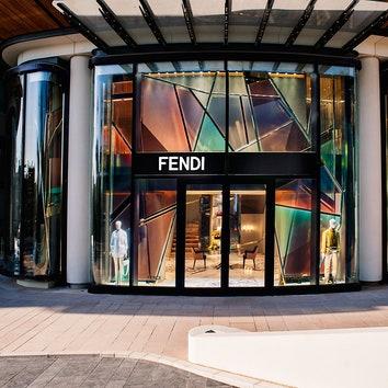 Новый бутик Fendi по проекту Dimorestudio в Монте-Карло