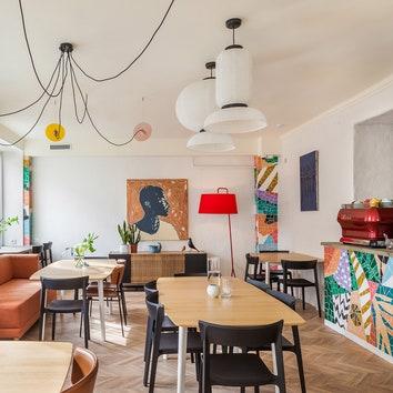 Новая кофейня Moby Dick в Минске по проекту студии Zrobym Architects