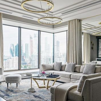 Квартира в стиле современной британской классики, 260 м²