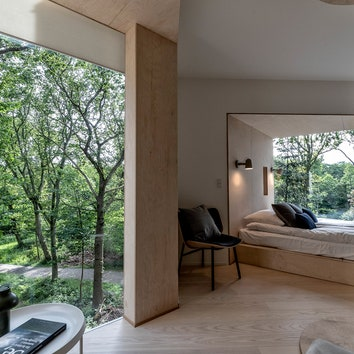 #отпускпообмену: домик на дереве по проекту Сигурда Ларсена