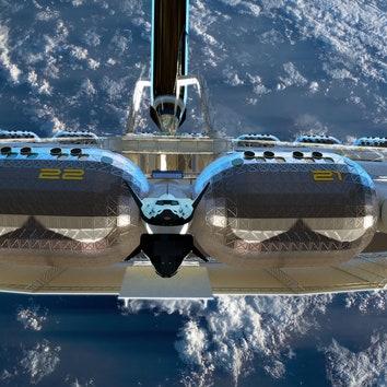 Будущее уже наступило: отель в космосе по проекту фонда Gateway