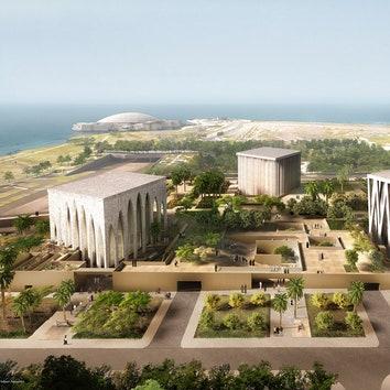Церковь, мечеть и синагога: комплекс в Абу-Даби по проекту Дэвида Аджайе