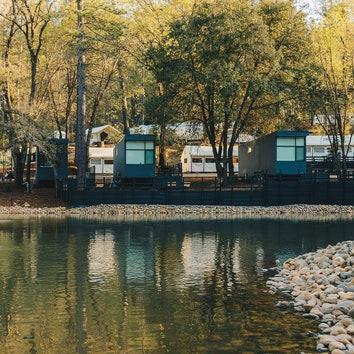 #отпускпообмену: уютный кемпинг в национальном парке Йосемити