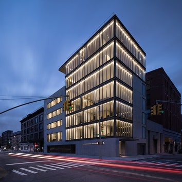 Первый жилой комплекс по проекту Тадао Андо в Нью-Йорке