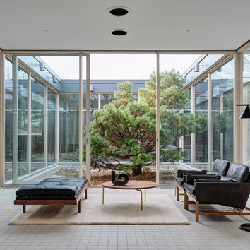 В Коннектикуте отреставрировали модернистский шедевр Филипа Джонсона