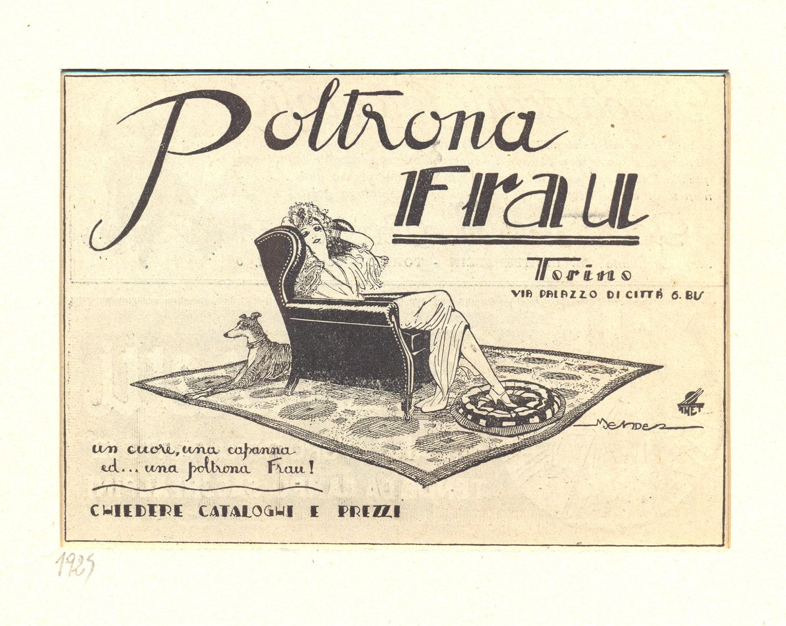 1919  2019 100    Poltrona Frau
