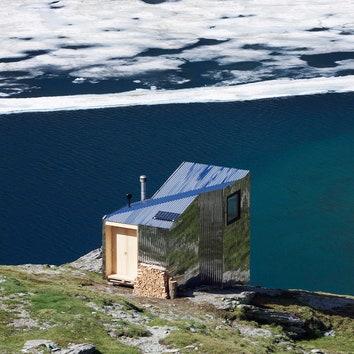 Горная хижина для отдыха в Швейцарских Альпах