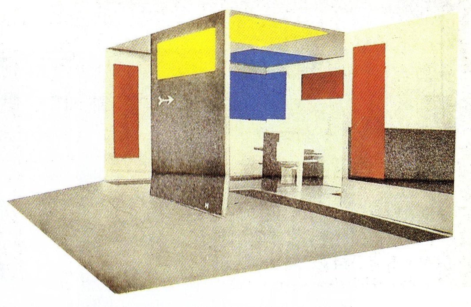 .         . 1923.  1983 .  Constructing a New World Theo van Doesburg amp the Unternational AvantGarde. London Tate...
