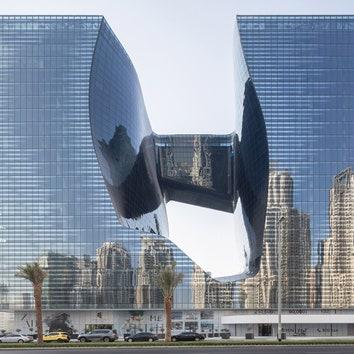 Комплекс Opus по проекту Захи Хадид вошел в шорт-лист премии архитектурного фестиваля