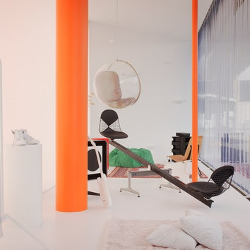 (Не)далекое будущее: мебель от Вирджила Абло в кампусе Vitra