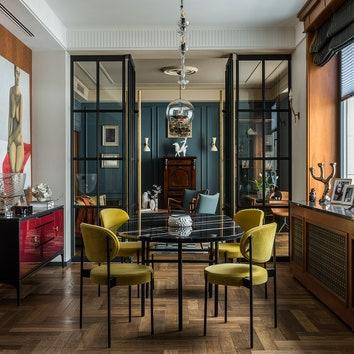 Квартира в комплексе Barrin House по проекту Анастасии Стенберг, 115 м²