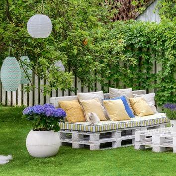 Как быстро оформить сад для домашней вечеринки: мастер-класс от Жени Ждановой