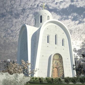 В Москве построят православный храм в современном стиле