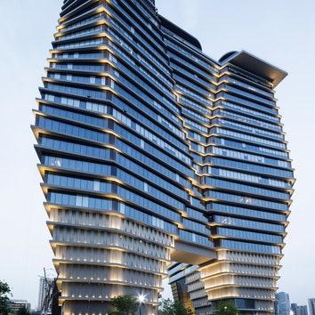 Офисное здание в Тель-Авиве по проекту Рона Арада