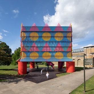 Красочный павильон от Йинки Илори и Pricegore на Лондонском фестивале архитектуры
