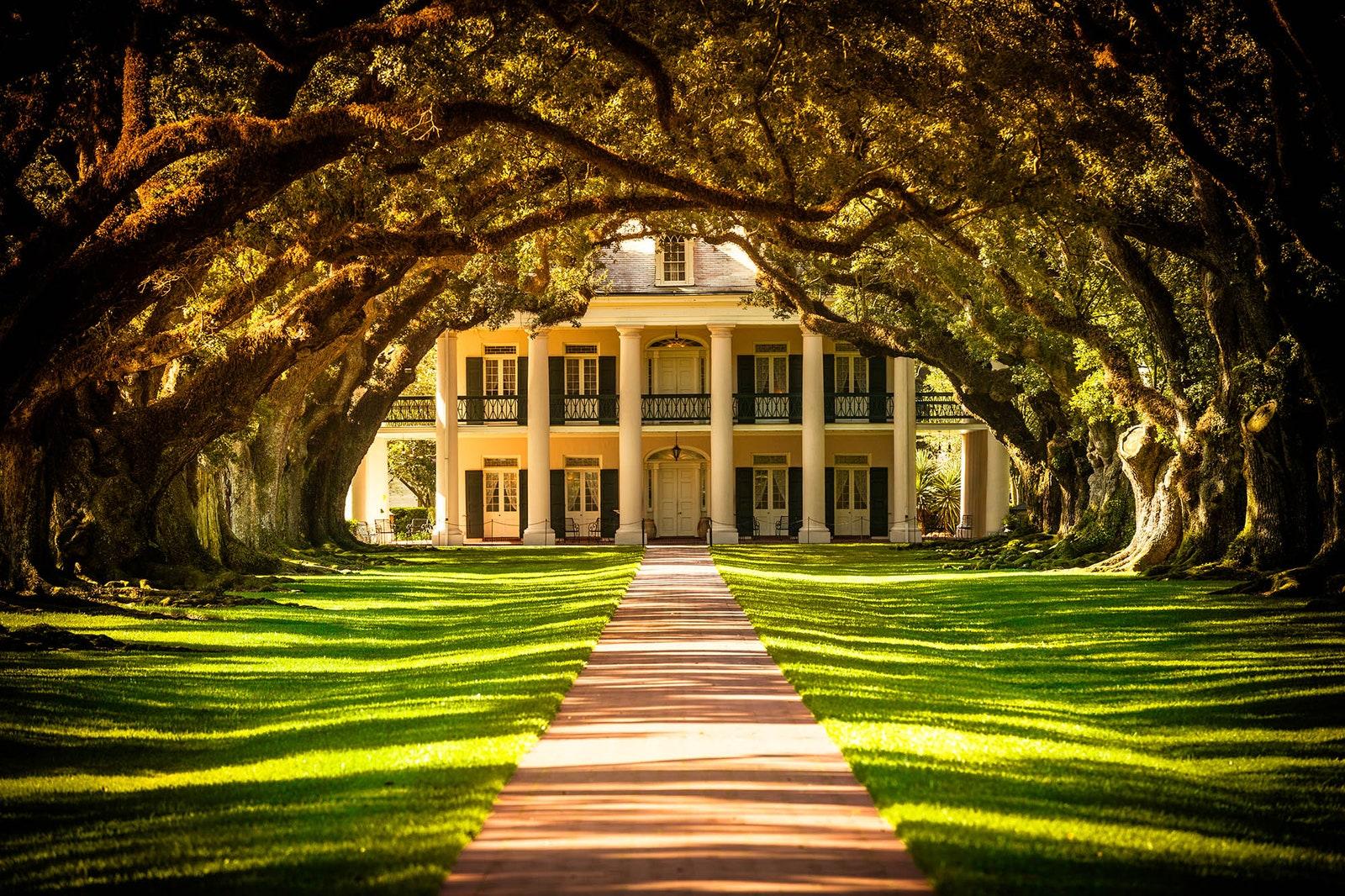 Oak Alley Plantation Vacherie 1839.