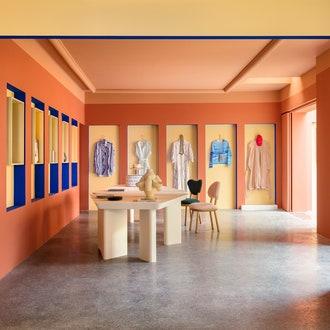 Сувенирный магазин на вилле Ноай по проекту Пьера Йовановича