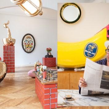 В гостях у Йоба Сметса: квартира-галерея Studio Job в Милане